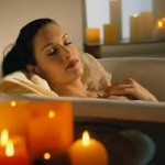 El poder curativo de un baño aromático