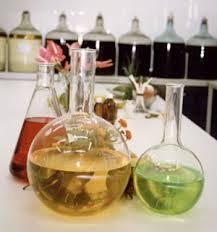 perfume con aceites esenciales