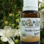 El aceite esencial de Mirto y sus numerosas propiedades.