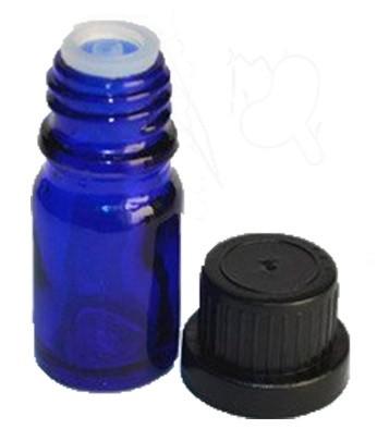 Botella vidrio 10 ml con tapon