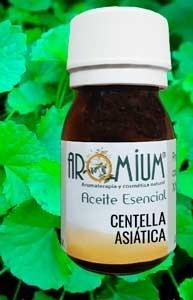 Aceite vegetal Centella Asiática 1ª prensada