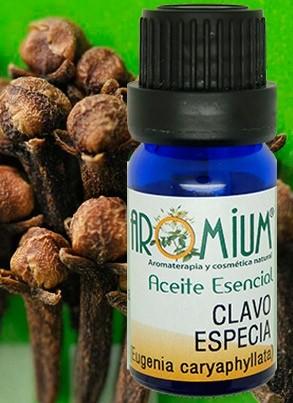 Aceite esencial clavo especia