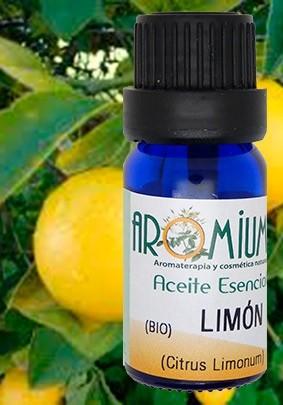 Aceite esencial limon bio aromium