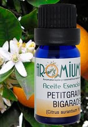 Aceite esencial petitgrain bigarade