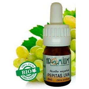 Aceiete vegetal pepita de uva bio 1ª prensada