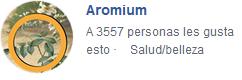 Aromium Facebook